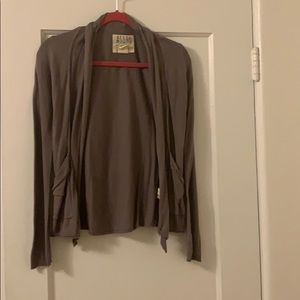 Billabong brown cardigan with pockets